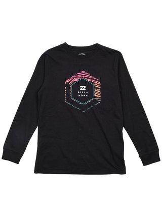 Billabong ACCESS black dětské triko s dlouhým rukávem - černá