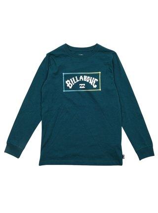 Billabong ARCH DEEP TEAL dětské triko s dlouhým rukávem - modrá