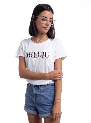 Bílé dámské tričko ZOOT Original Bublinky