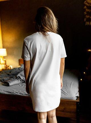 Biela dámska nočná košeľa ZOOT Original Zas ráno