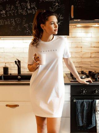 Biela dámska nočná košeľa ZOOT Original Zasněná