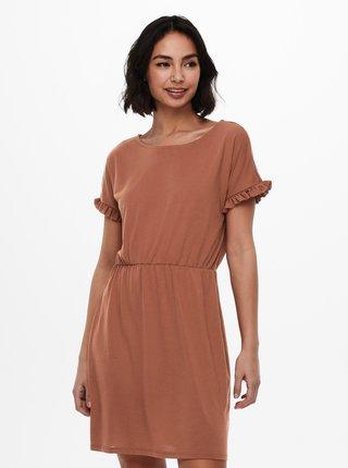 Hnedé šaty Jacqueline de Yong Karen
