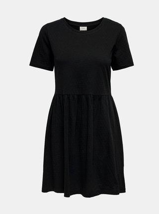 Čierne basic šaty Jacqueline de Yong Pastel