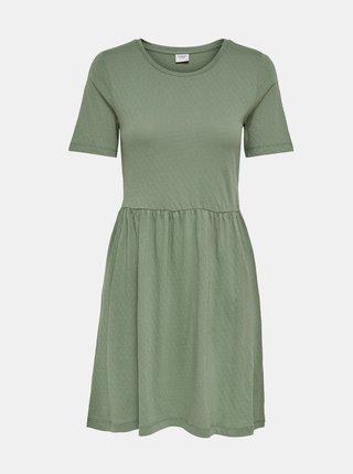 Svetlozelené basic šaty Jacqueline de Yong Pastel