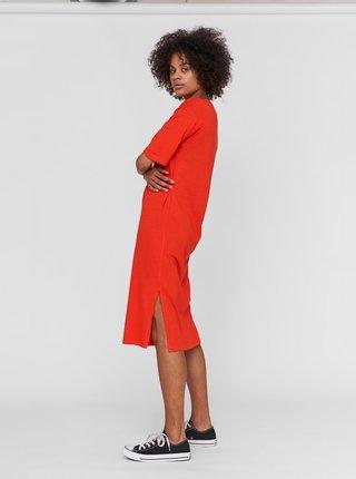 Oranžové šaty Noisy May Mayden