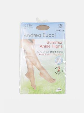Dva páry tělových ponožek Andrea Bucci 10 DEN