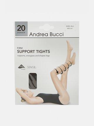 Šedé punčochové kalhoty Andrea Bucci 20 DEN