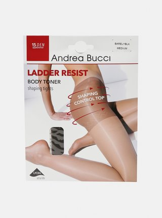 Šedé punčochové kalhoty Andrea Bucci 15 DEN