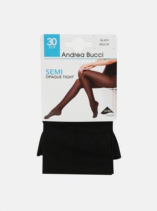Černé punčochové kalhoty Andrea Bucci 30 DEN