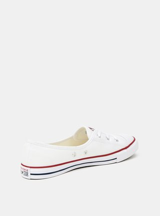 Biele dámske tenisky Converse