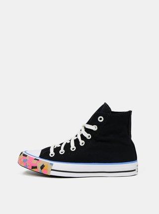 Černé dámské kotníkové tenisky Converse