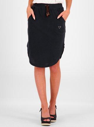 Čierna sukňa s vreckami Alife and Kickin