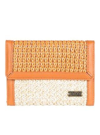 Roxy SANDY TOES NATURAL dámská značková peněženka - béžová