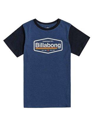 Billabong MONTANA DENIM BLUE dětské triko s krátkým rukávem - černá