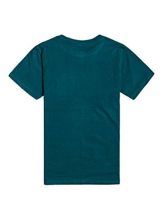 Billabong ACCESS DEEP TEAL dětské triko s krátkým rukávem - zelená