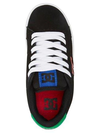 Dc STRIKER Black/Multi letní boty dětské - černá