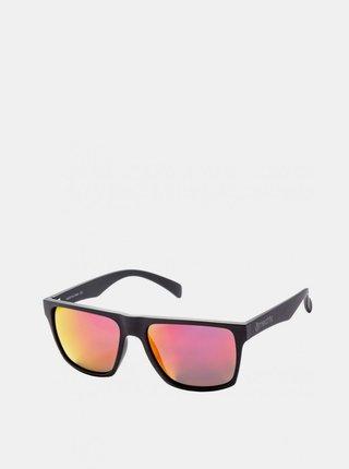 Černé pánské sluneční brýle Meatfly Trigger