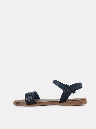 Čierne dámske sandále MUSK