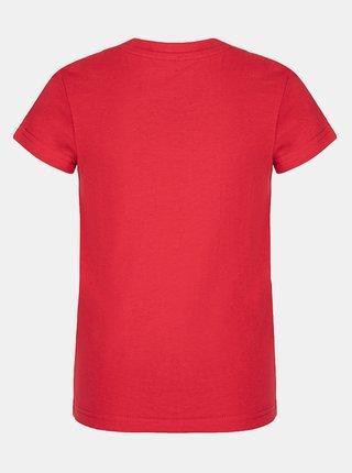 Červené klučičí tričko s potiskem LOAP