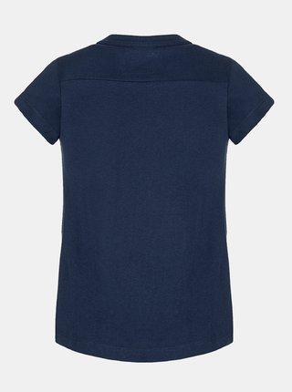 Tmavě modré holčičí tričko s potiskem LOAP