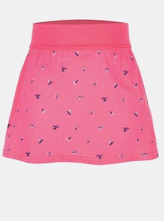 Ružová dievčenská vzorovaná sukňa LOAP