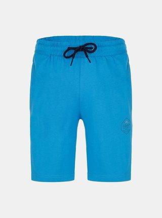 Modré chlapčenské teplákové kraťasy LOAP