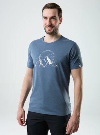 Modré pánské tričko s potiskem LOAP