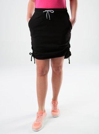 Černá dámská pouzdrová sukně se stahováním LOAP