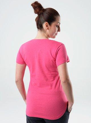 Růžové dámské tričko LOAP