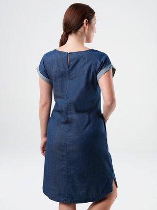 Tmavě modré dámské šaty s kapsami LOAP