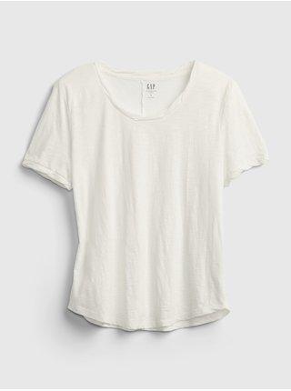 Bílé dámské tričko the gen good t-shirt