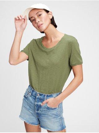 Zelené dámské tričko the gen good t-shirt