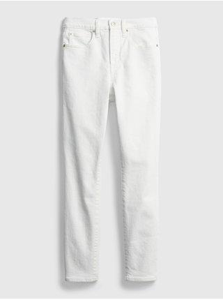 Bílé dámské džíny high rise true skinny with secret smoothing pockets
