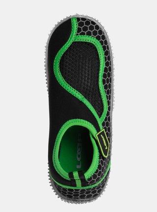 Čierne chlapčenské topánky do vody LOAP