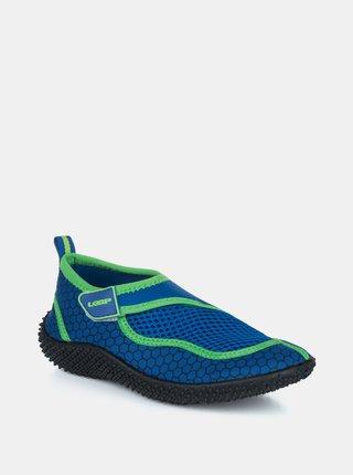 Modré chlapčenské topánky do vody LOAP
