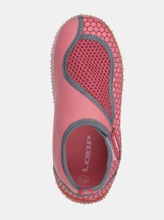 Růžové holčičí boty do vody LOAP