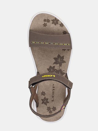 Hnedé dámske sandále LOAP