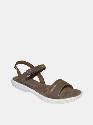 Hnědé dámské sandály LOAP