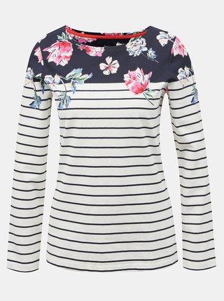 Modro-biele dámske pruhované tričko Tom Joule