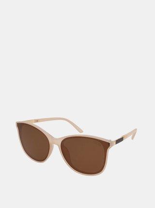 Béžové dámské sluneční brýle Crullé