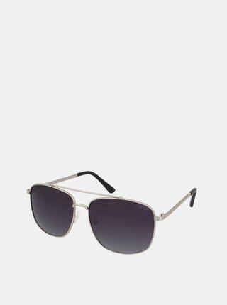 Dámské sluneční brýle ve stříbrné barvě Crullé