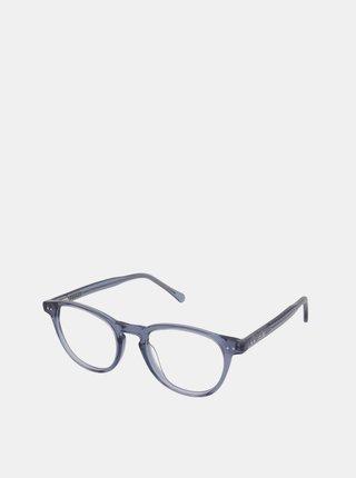 Modré dámské ochranné brýle k PC Crullé