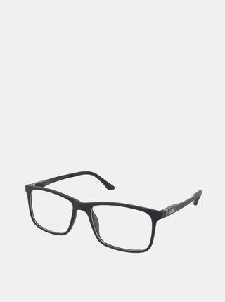 Černé pánské ochranné brýle k PC Crullé