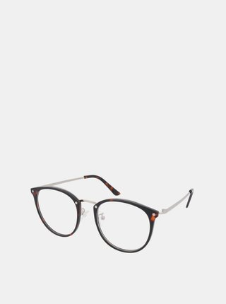 Hnědé dámské vzorované ochranné brýle k PC Crullé