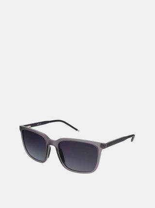 Šedé pánské sluneční brýle Crullé