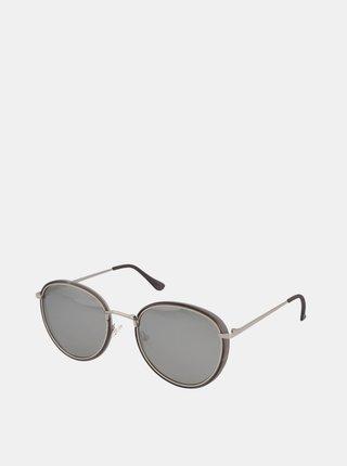 Šedé dámské sluneční brýle Crullé