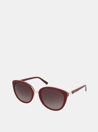 Vínové dámské sluneční brýle Crullé
