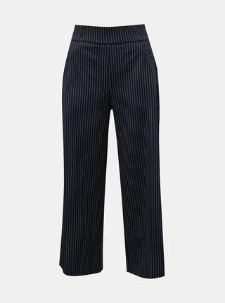 Tmavomodré pruhované culottes Jacqueline de Yong Louisville