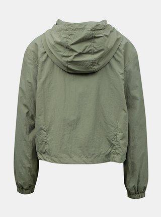 Zelená lehká bunda s kapucí Jacqueline de Yong Anni