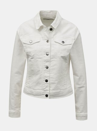 Bílá džínová bunda Jacqueline de Yong